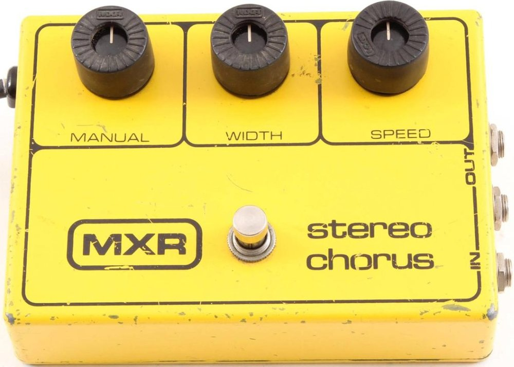 demo vintage mxr 134 analog stereo chorus pedal pedals and effects. Black Bedroom Furniture Sets. Home Design Ideas