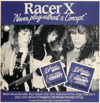 Old ad we were featured in!