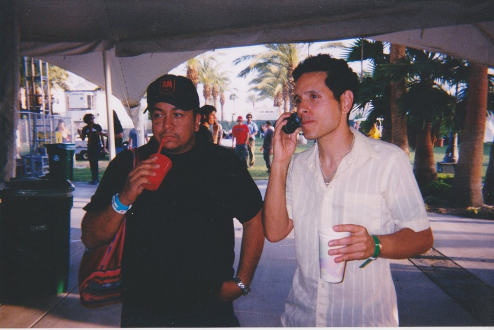Manny and I @ Coachella 2003