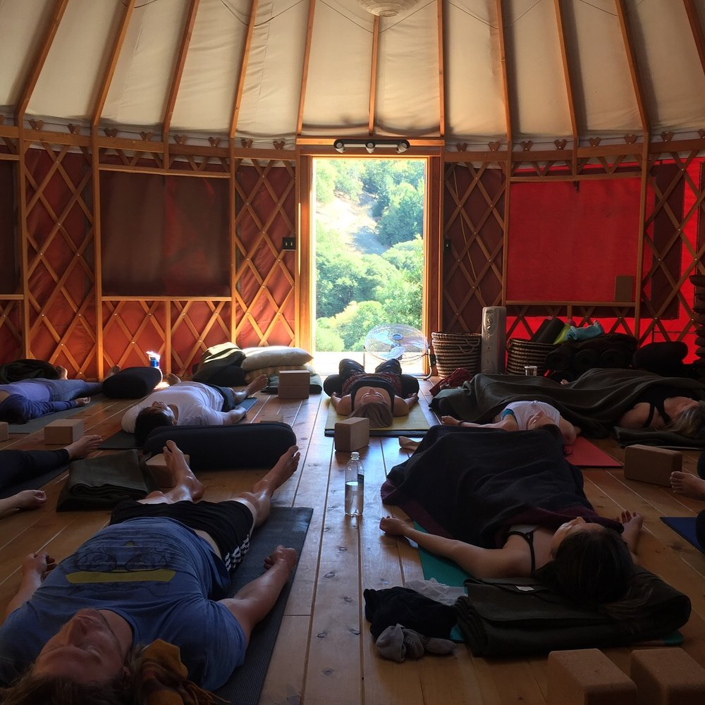 YOGA AND SELF CARE REREAT OCTOBER 2018: BELL VALLEY RETREAT CENTER