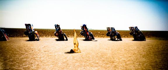 Cadillac Ranch Gal