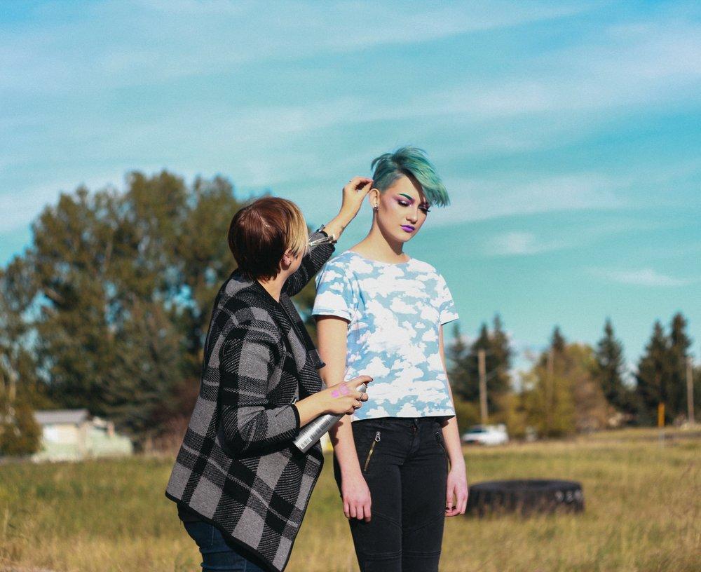 Photo Credit: Karen Chernecki  Make-up/Model: Linde Liebrand  Hair: Monique Chernecki