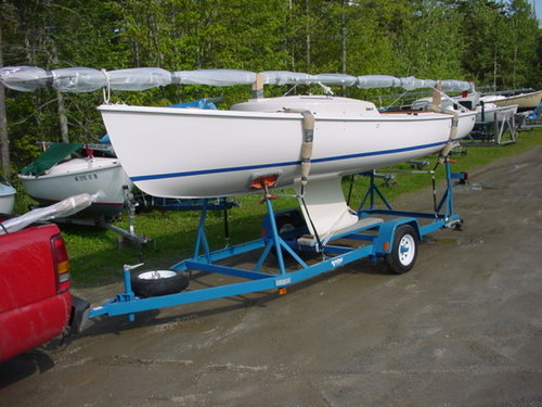 Sailboat Trailer For Sale >> Rhodes 19 Keel Sailboat With Mainelander Package Stuart Marine Corp
