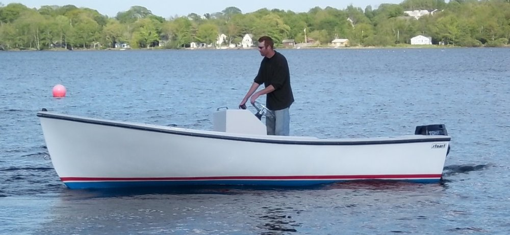 LIMITED SALE - Stuart 19 SC Workboat w/ 40 hp TLDI - $14,950