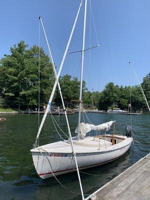 Used Rhodes 19 Sailboats — Stuart Marine Corp