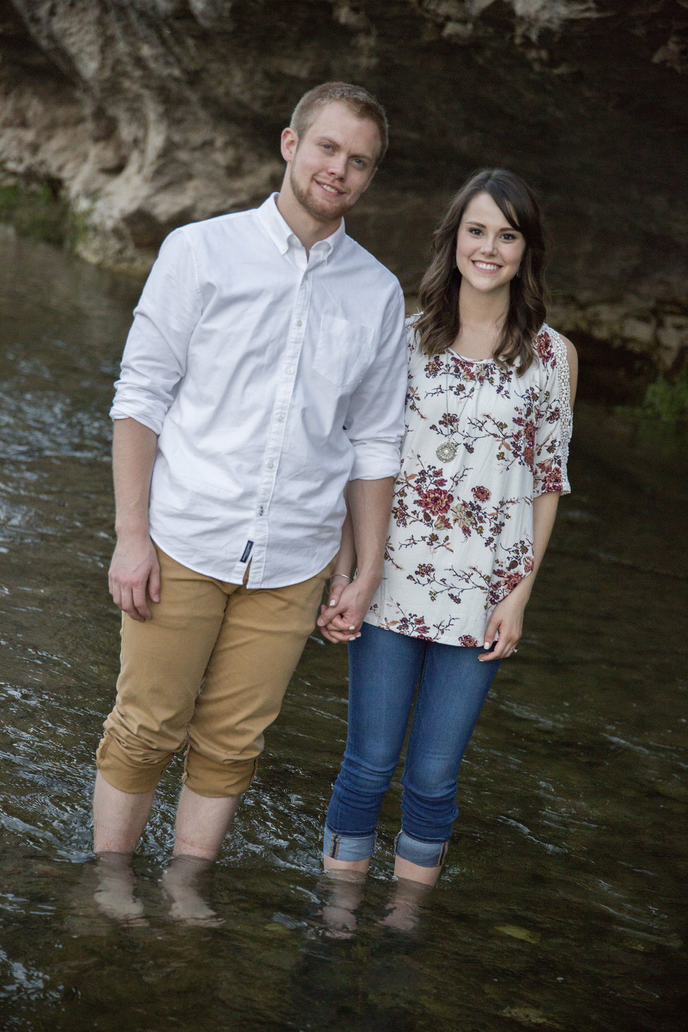 Engagement in creek