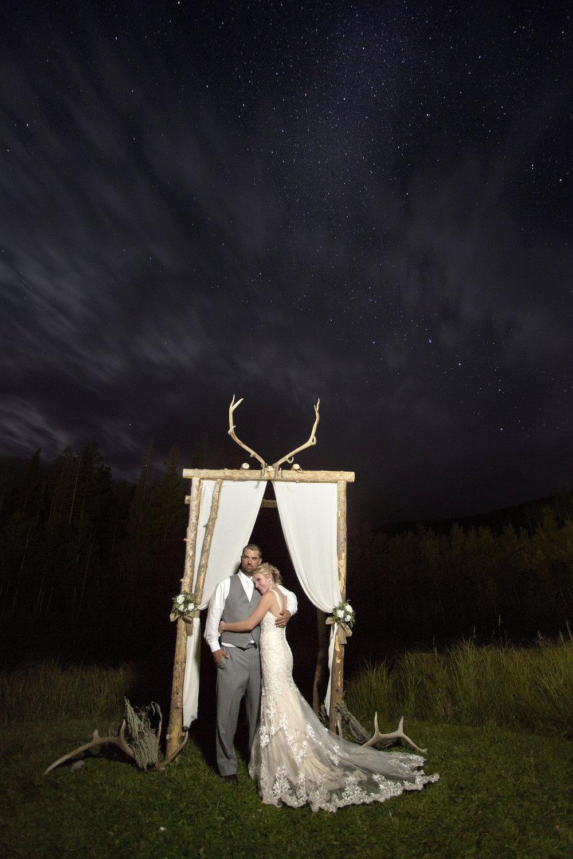 Wedding Night Portrait