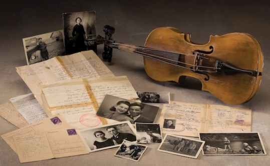 Letters, photos and personal items from the USHMM. Photo courtesy of the U.S. Holocaust Memorial Museum, gift of Regina Gordon and Anna Nodel