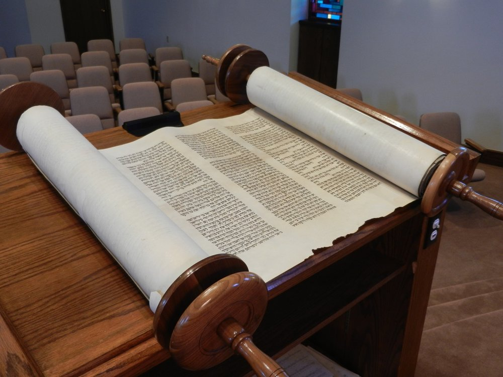 Wolf Holocaust Scroll of Congregation Beth El