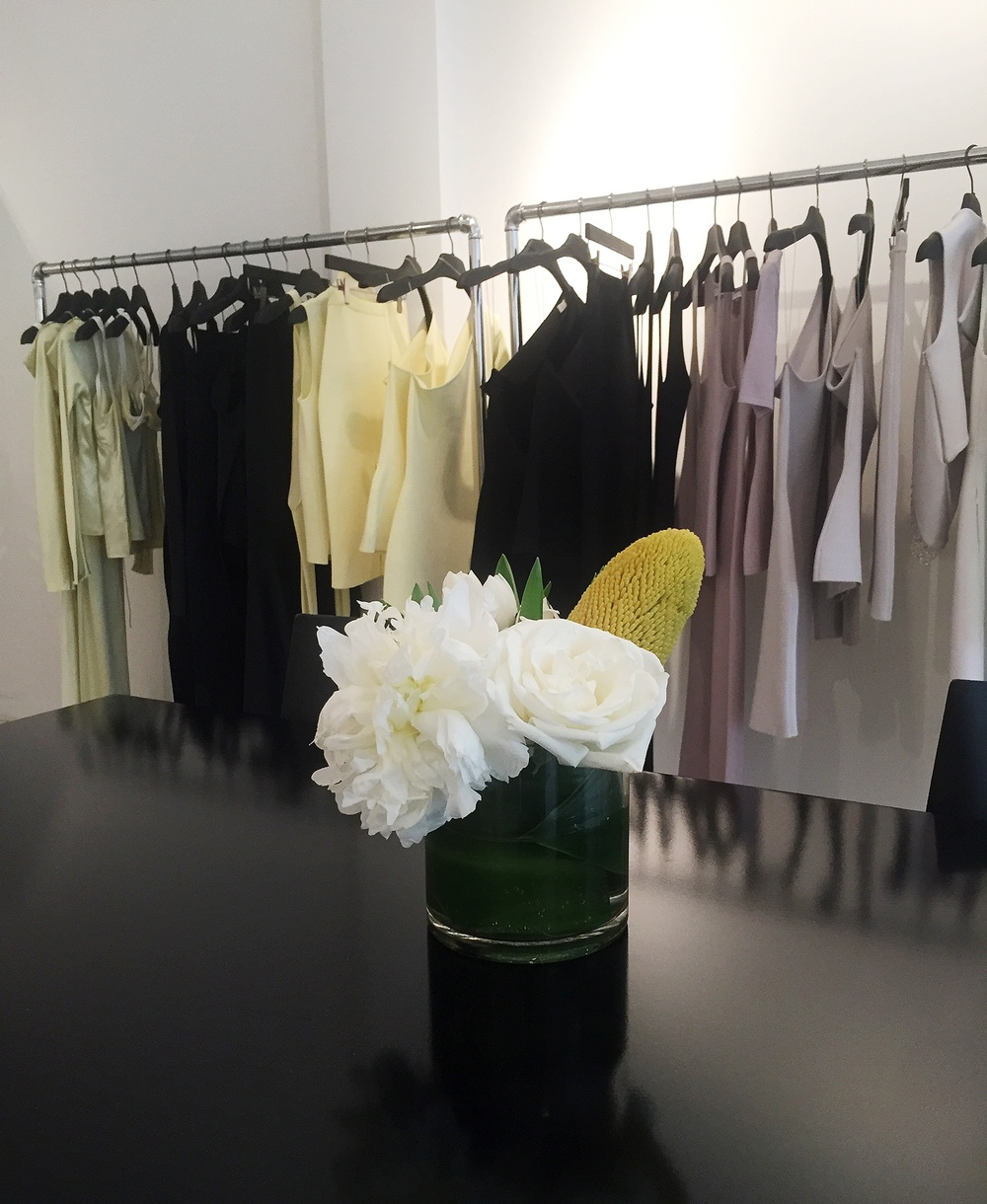 POPUPFLORIST arrangements for Dion Lee Resort appointments