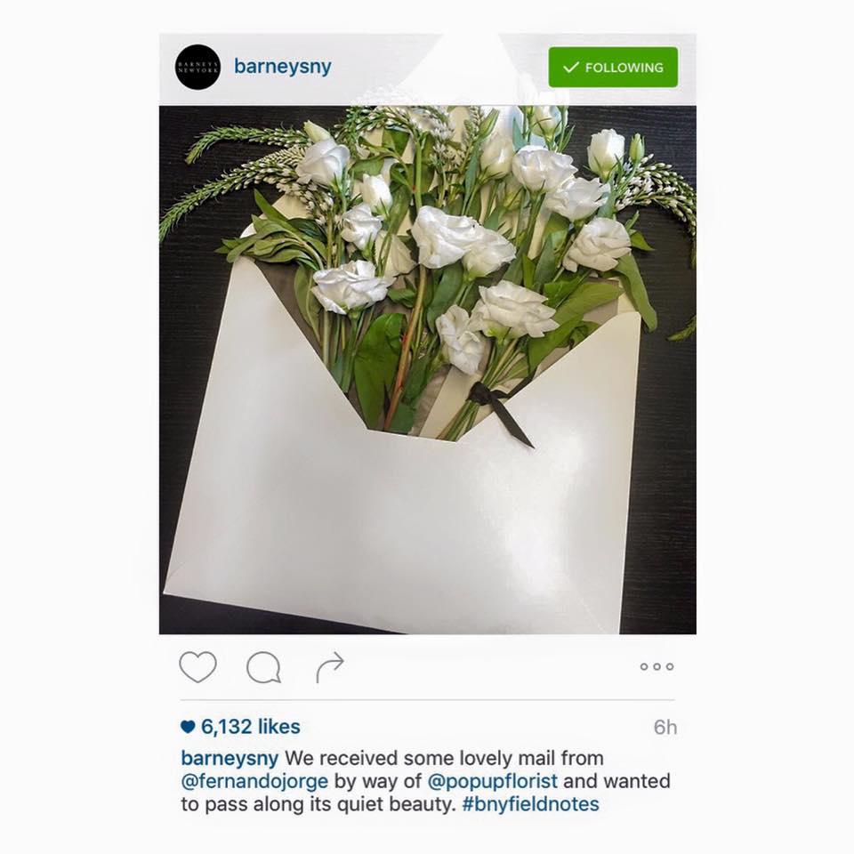 BARNEYS NY instagram