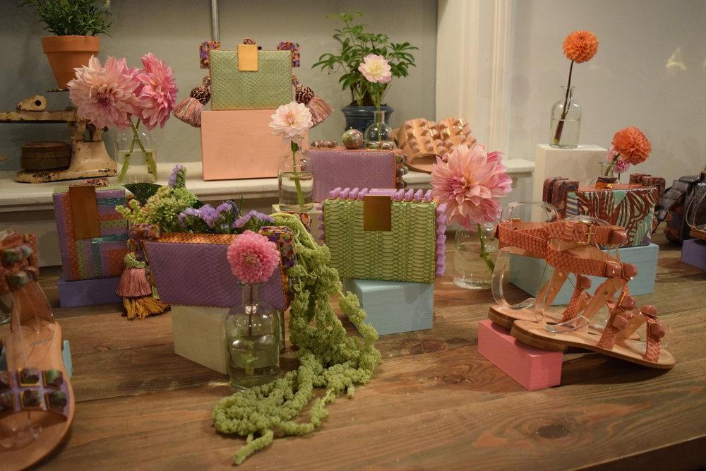 Tonya Hawkes Press Preview || Product & Floral Display