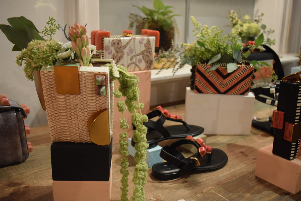 Tonya Hawkes Press Preview || Product & Floral Display