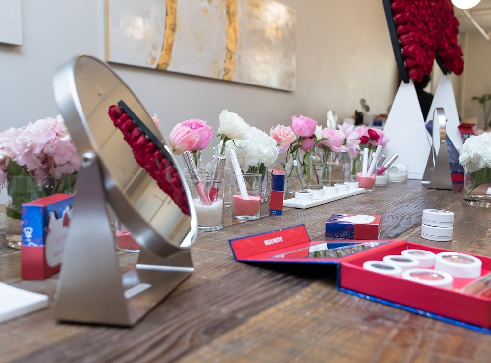 Hello Kitty x Colour Pop Cosmetics NYC Launch, November 2016