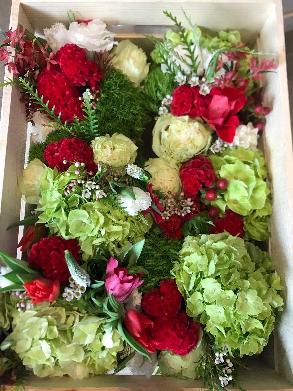 Private Event Florals, December 2016