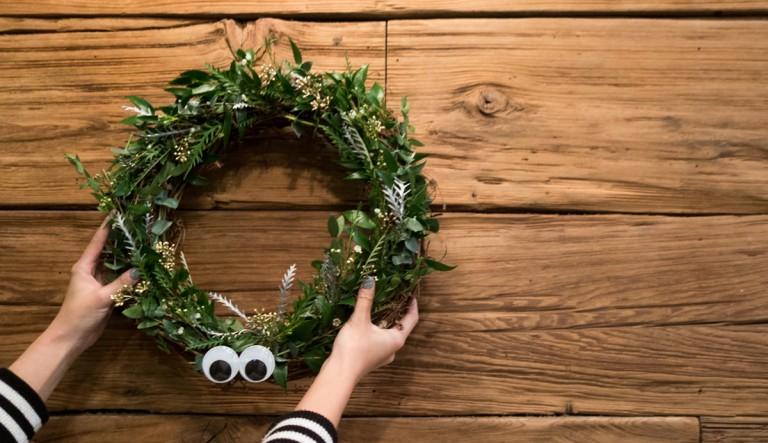 Barneys NY Wreath Class at the Elk NYC