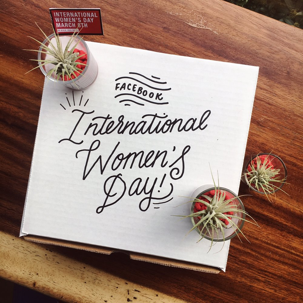 Facebook International Women's Day Gifting