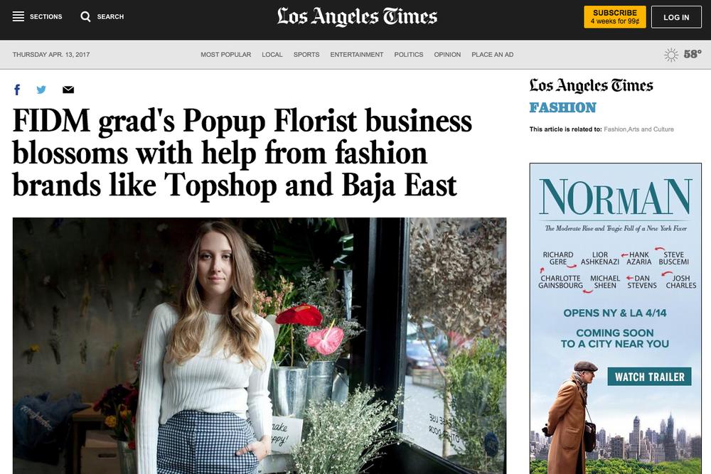 LA Times, March 2017