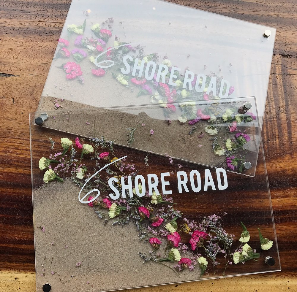 6 Shore Road Gurneys Popup Signage