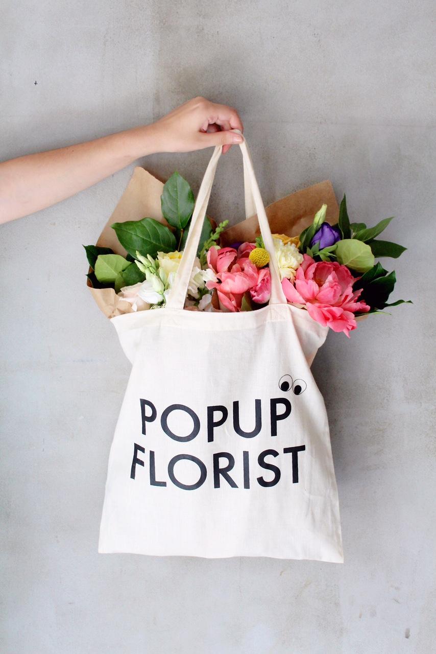 Popupflorist Tote Bags