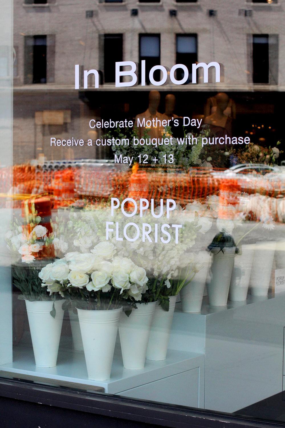 Theory Gansevoort St Mother's Day Popup