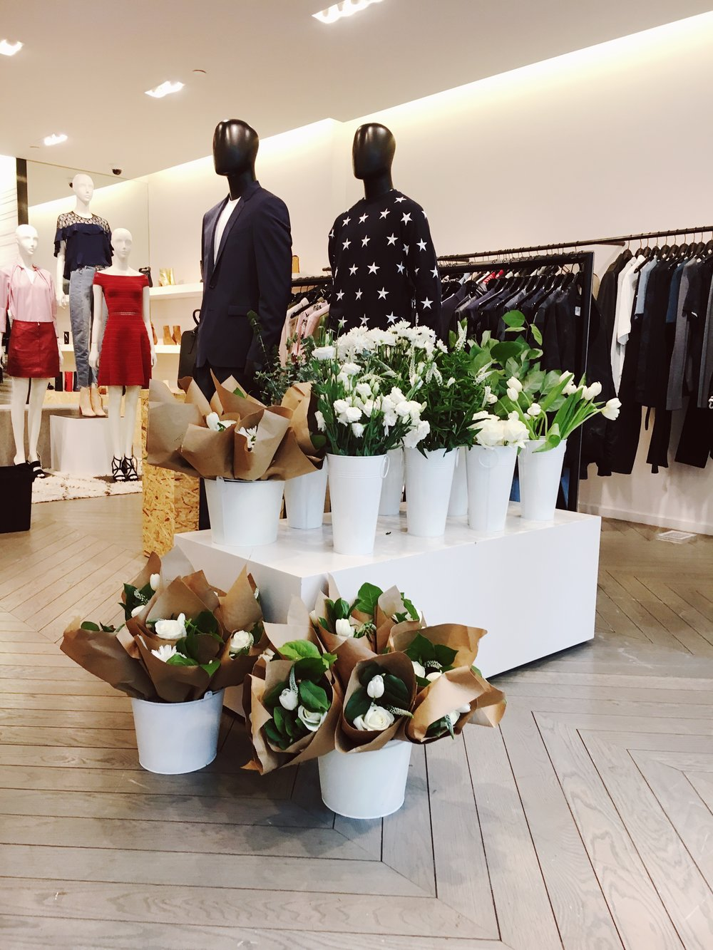 Sandro Madison Avenue Mother's Day Popup