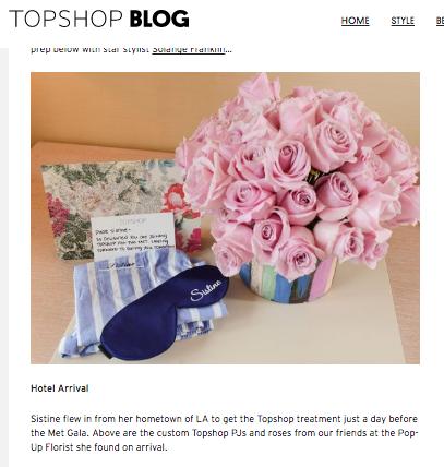Topshop Blog Met Gala Florals