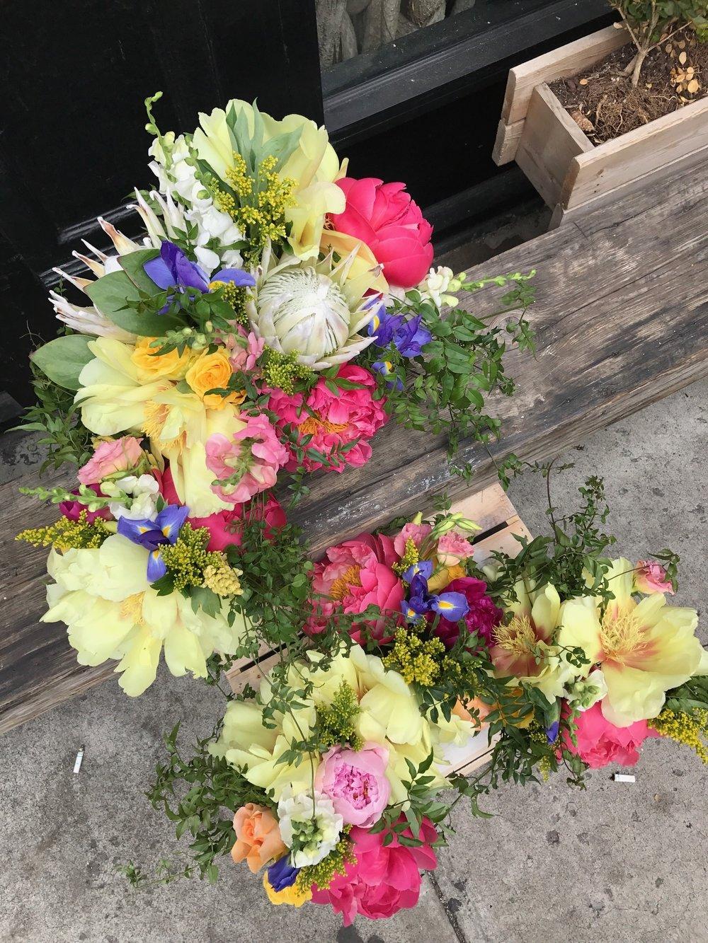Topshop BFA Panel Florals at Parsons