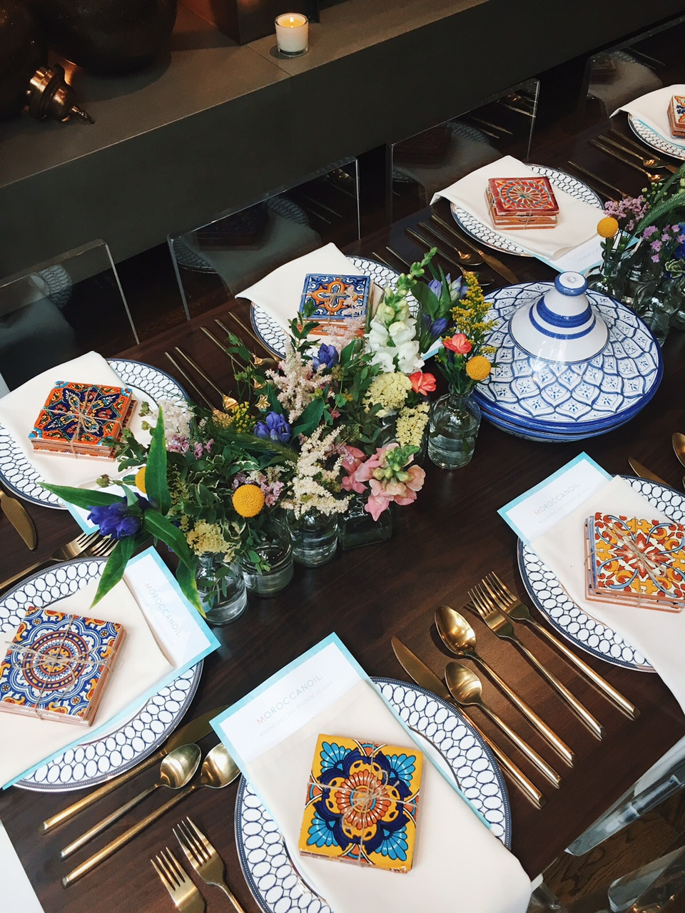 Moroccan Oil Dinner