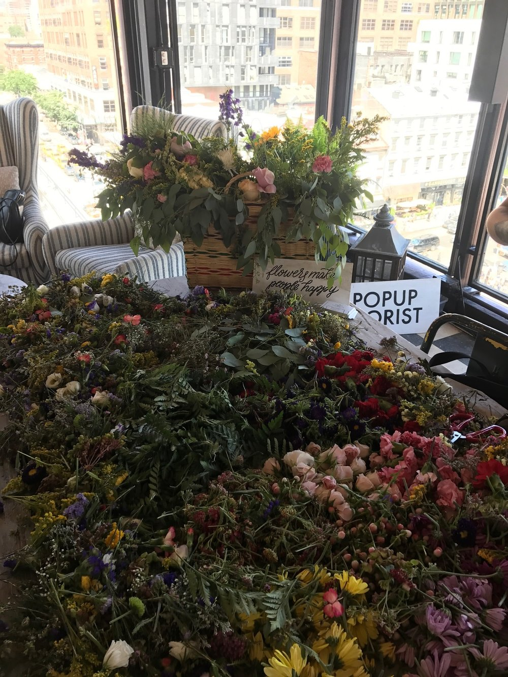 Soho House Summer Solstice Flower Crowns