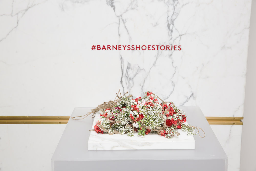 Barneys Fashion Week Shoe Event