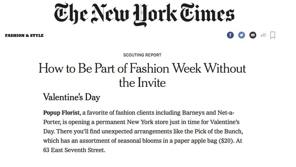 NY TIMES, February 2018