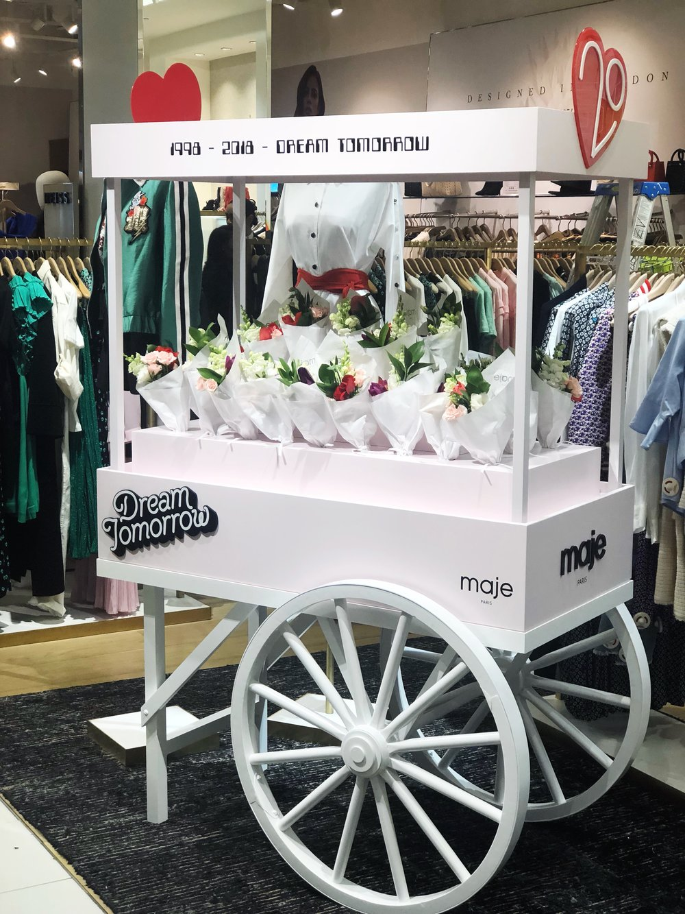 Maje Popup at Bloomingdales