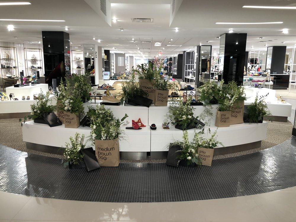 Bloomingdales Shoe Floor Opening