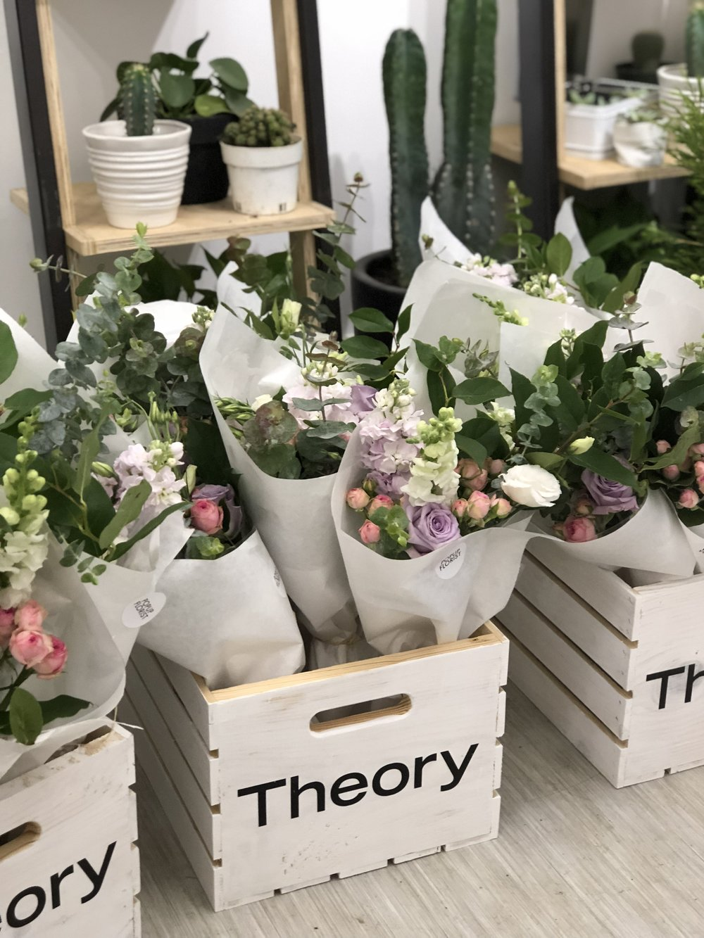 Theory Florals