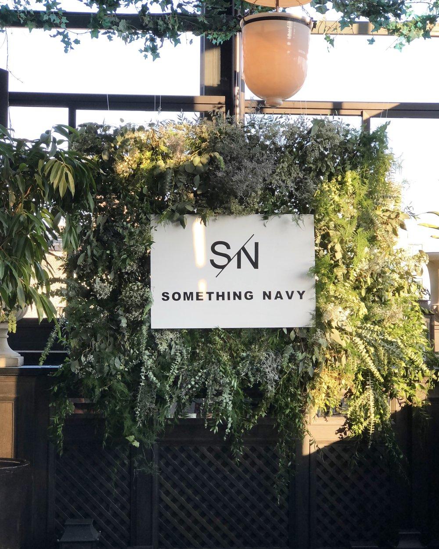 Something Navy Brand Launch