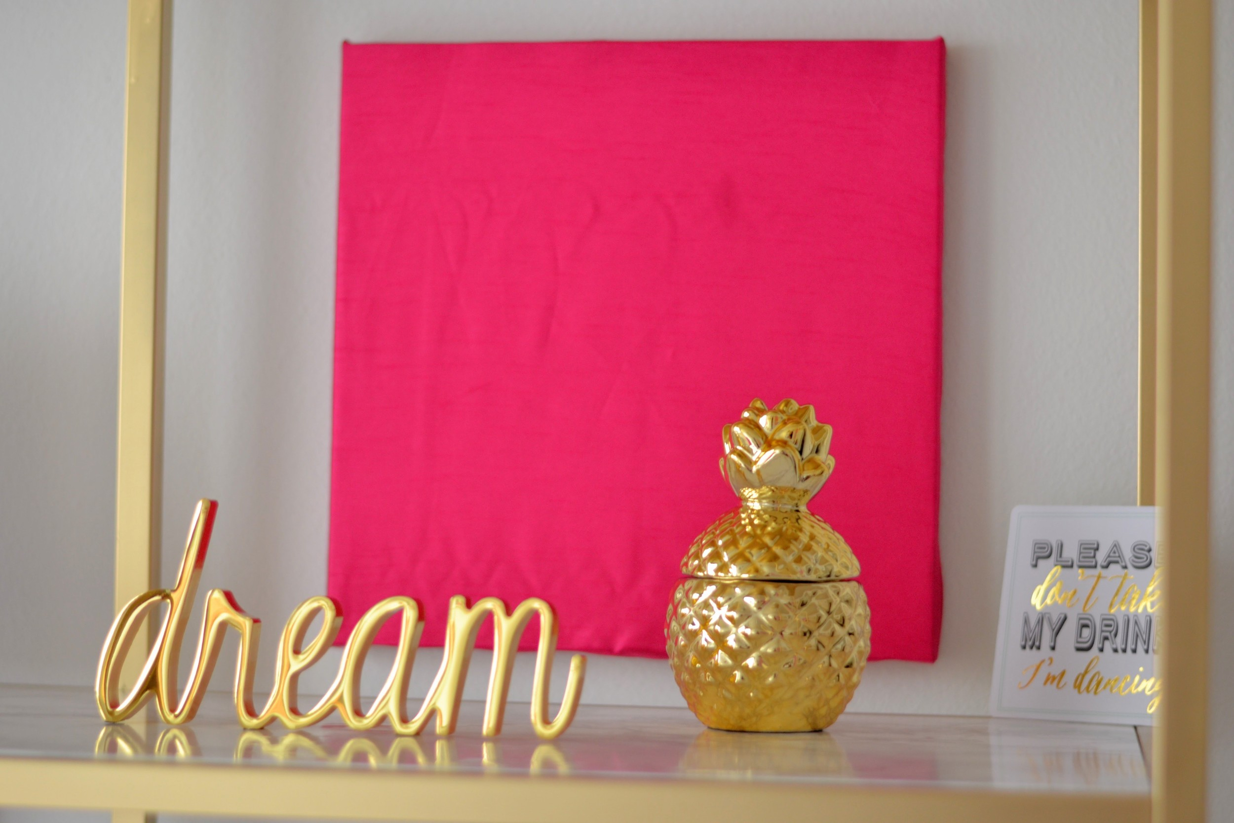 My Kate Spade Inspired, Pink, Gold, Black U0026 White Office