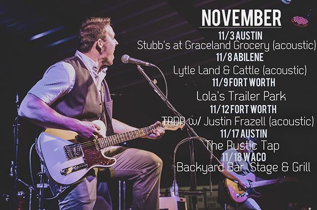 Some things that are happenin' this month. See y'all out there! 📷 @bradh.jpg #hrb #lovinaintfree