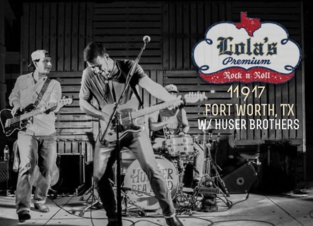 FORT WORTH // Come get loud with us at @lolassaloonftw this Thursday. @huserbrotherband kicks it off at 8:30. #fortworth #texasmusic