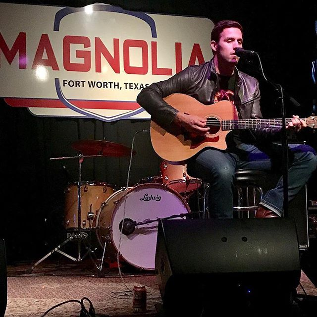 Great time with @txrdr this past Sunday. Thanks to @magnoliamotorlounge and @skylarpaynemusic for letting me sing a few as well. #fortworth #tbt