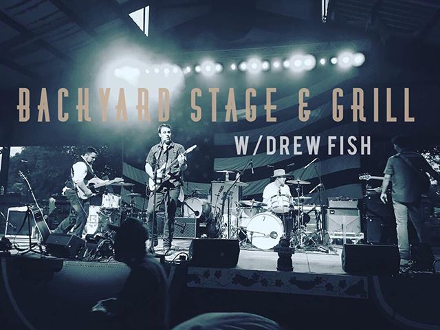 Come hangout with us tonight at the Backyard in Waco, TX! Show starts at 9pm. @drewfishband