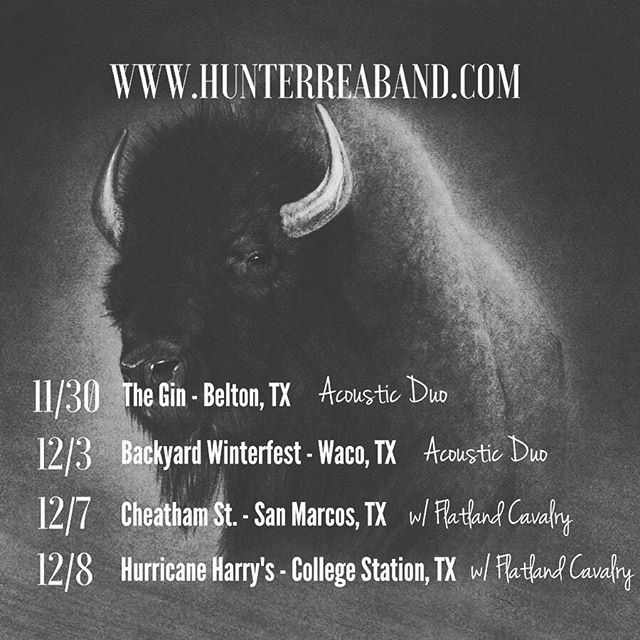 Really looking forward to these next few shows // Acoustic duo this weekend and hitting the road with @flatlandcavalry next weekend!