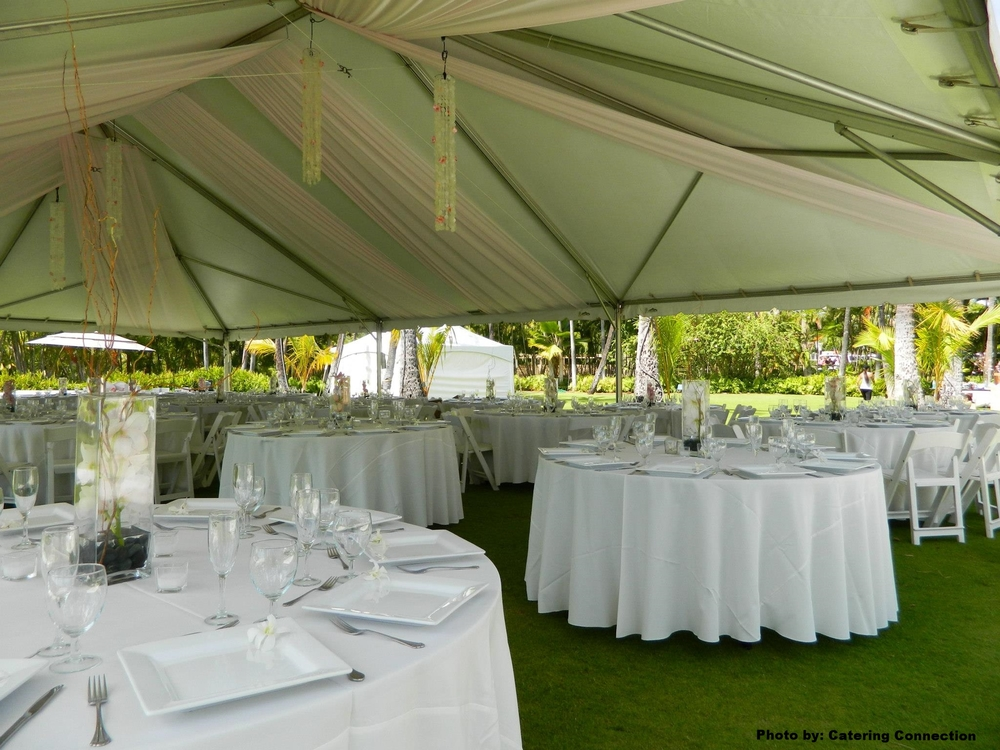 Tent Draping & Fabric u2014 Event Essentials Hawaii