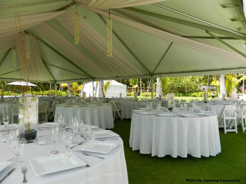 Tent Draping & Fabric u2014 Event Essentials Hawaii