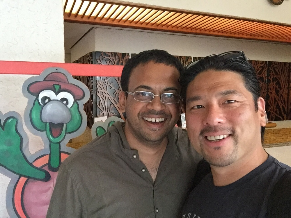 Roshan Paul, CEO of Amani Institite and Britt Yamamoto, Founder of iLEAP.