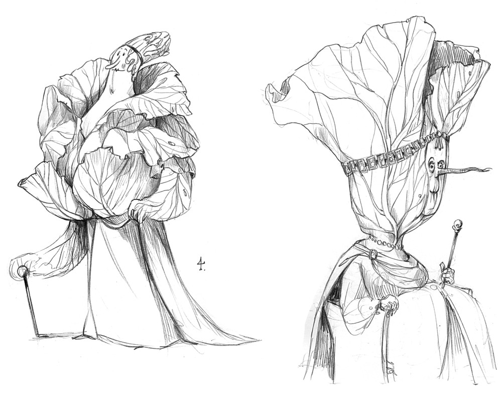 More cabbage creatures...