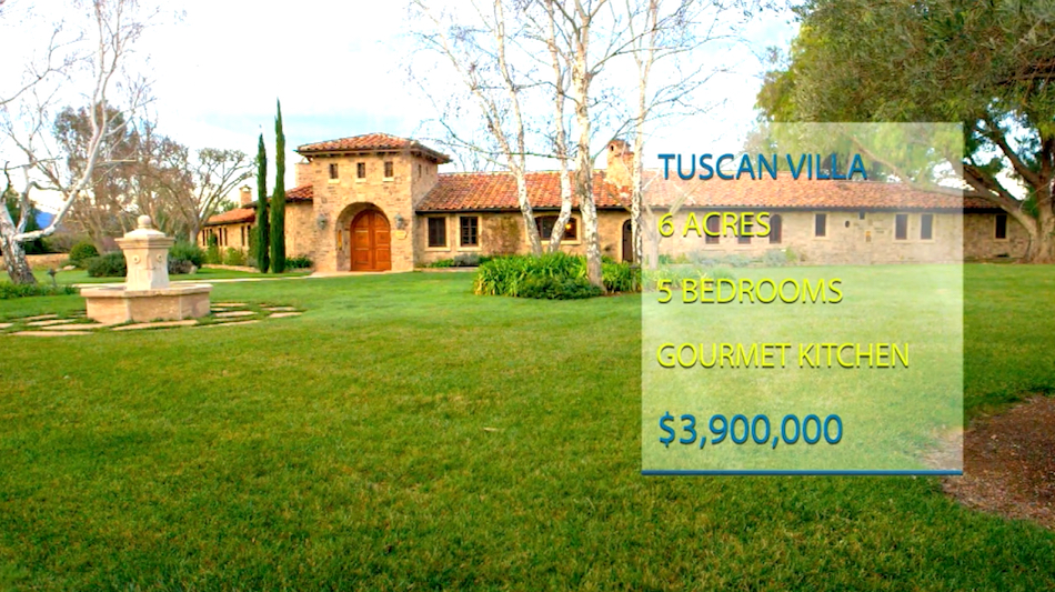 Tuscan Villa in Happy Canyon - Santa Ynez Valley wine country