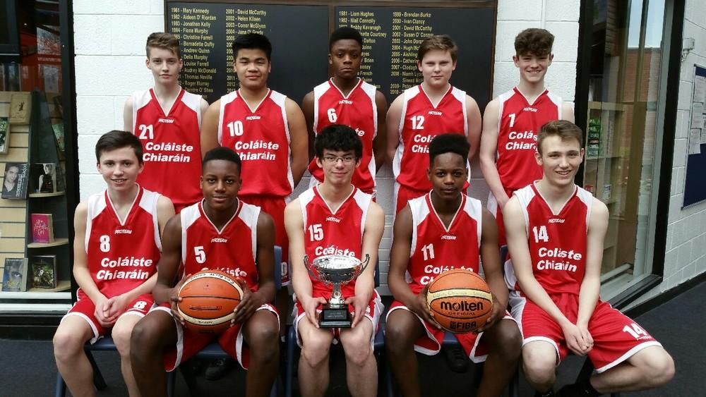 Basketball U-16 Boys Winners -East Coast Championship.