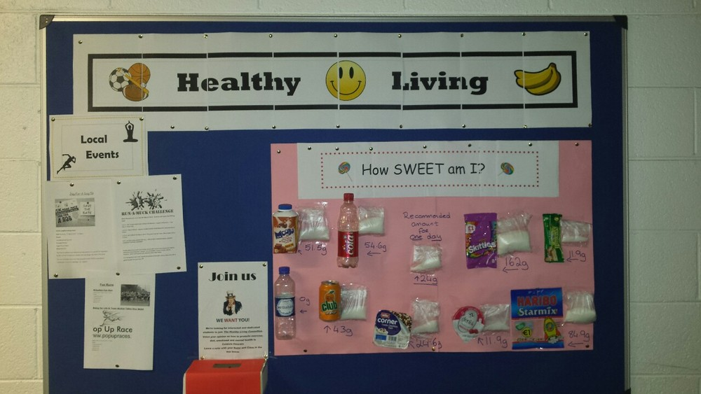 Check out our new Healthy Living Notice Board for fun local events and interesting facts.