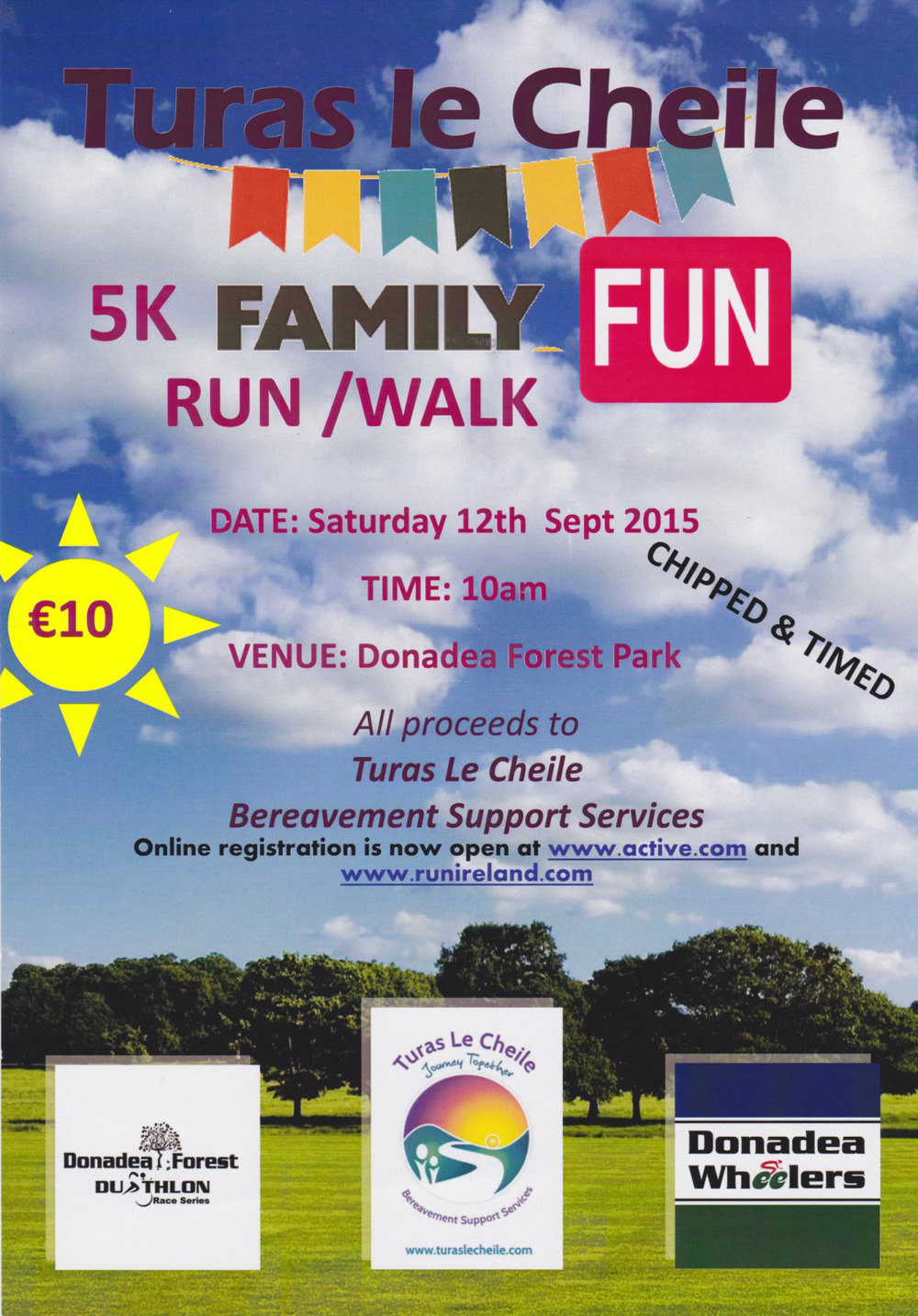 Turas le Cheile have been a great support to the school in recent times and ask that you might consider taking part in this 5k family activity.